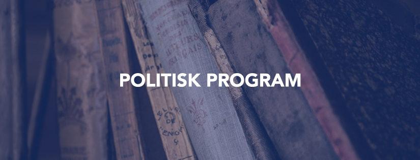 politisk-program